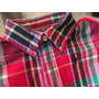 Camisa Polo Ralph Lauren Escosesa Nueva !!! 6 Meses !!