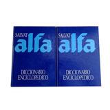 Diccionario Enciclopedico Salvat Alfa 2 Tomos