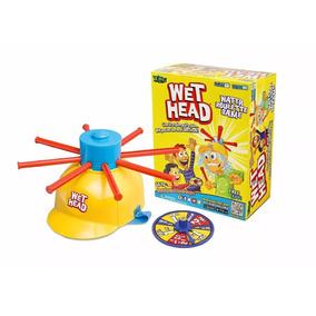 Juego Wet Head Sombrero Ruleta De Agua Zing Original Tv