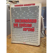 Livro Dicionário De Ideias Afins Hermínio Sargentim