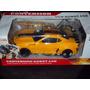 Transformers Bumble Bee Camaro Control Pila Recargable Luz