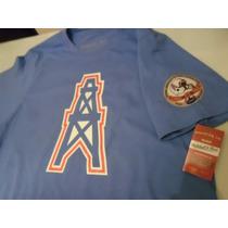 Playera Nfl Vintage Houston Oilers M&n Envio Gratis