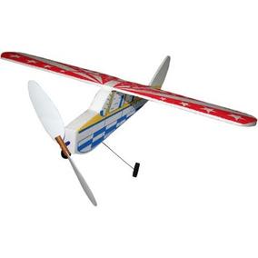 Avião De Isopor Aeromodelo Movido A Hélice