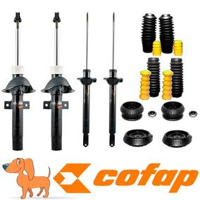 Kit 4 Amortecedores Ford Ka 2007 A 2011 + Kits+coxim