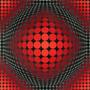 Cuadros Victor Vasarely Canvas 50x60 En Bastidor Op Art