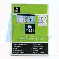 Fita Compativel D1 45013 Branca 12mm P/ Rotulador Dymo®