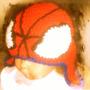 Gorro Hombre Araña Con Orejeras 100% Artesanal. Crochet.