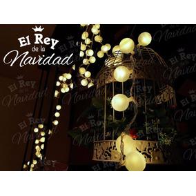 Luces Navideñas Led Calida Tipo Feria 9m Casamientos Fiestas