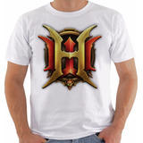 Camiseta Ou Babylook Game World Warcraft Wow Heroes Colorida