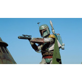 Star Wars Boba Fett Con Propulsor O Mochila Cohete Tatooine