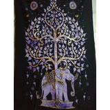 Tapiz Arbol De La Vida Ganesh ,shiva , Lakshmi Mundo Hindu