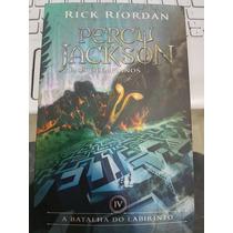 Percy Jackson A Batalha Do Labirinto Livro 4