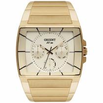 Relógio Orient Masculino Ggssm001 C1kx Quadrado Original