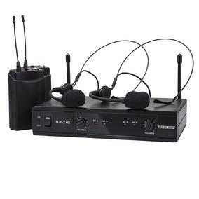Micrófono Uhf Inalambrico Reloop Ruf-2hs Dos (2) Vinchas