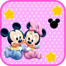Kit Imprimible Para Tu Fiesta De Mickey Y Minnie Bebes