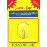 Percha Transparente Autoadhesiva Grande - Belgrano
