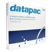 Lm-cinta Negra Para Impresora 1piezaxcja Datapac Ibm4224-10