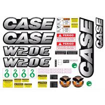 Adesivo Caterpillar Case W20e