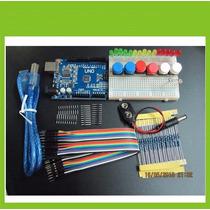 Kit Arduino Uno + Protoboard Iniciante