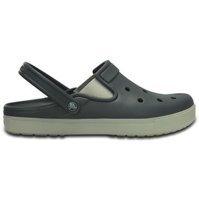 Zapato Crocs Unisex Adulto City Sneaks Slim Gris