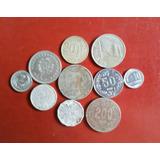 Monedas Antiguas Uruguayas. Lote De 10