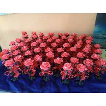 Rosa De Porcelana Fria Souvenir Casamiento Todos Los Colores