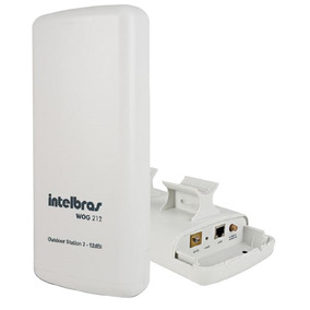 Cpe Wog 212 Intelbras 12dbi 2.4ghz Outdoor Station 2 Wifi