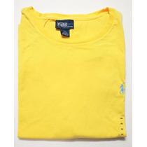 Camiseta Básica Polo Ralph Lauren Tamanho Ggg / Xxl Original