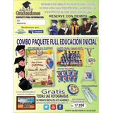Paquetes Graduación Preescolar, Diploma, Medalla, Estola,