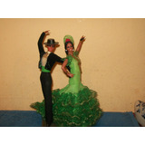 Pareja De Bailarines Marin Chiclana España