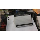 Porta Tarjetas Personales Metalico Negro Enrejado Microcentr