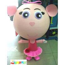 Piñata Tipo Angelina Balerina Botas Dora Diego Kiss