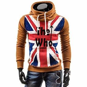 Buso Buzo Saco Abrigo Style Bandera Inglaterra Envio Gratis