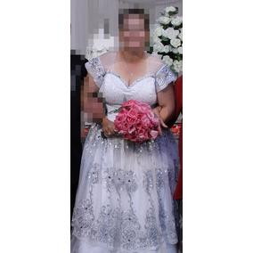 Vestido De Noiva Plus Size Lindo! Pronta Entrega!