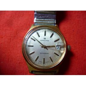 Antiguo Reloj Automatico, Hamilton De Pulso.