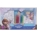 Brush Marker Frozen (lienzos Para Pintar)