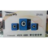 Home Mini 2.1 Usb Hs-999 Eagle Usb Ipod Mp3 Mp4 Pc