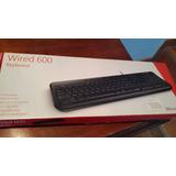 Vendo Teclado + Mouse Wired Desktop 600 Microsoft Nuevo