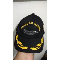 Boné / Chapéu Aviação Naval / Marinha Brasil / Oficial Eb
