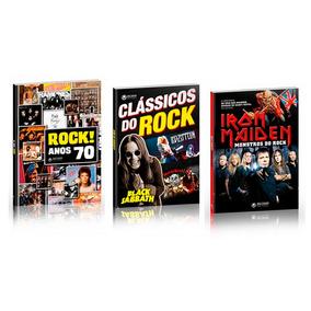 Livros Clássicos Rock Anos 70 Iron Maiden Led Zepp Discovery