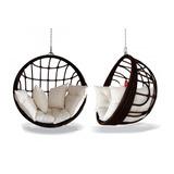 Cadeira Balanço Jardim Decoração Design Lindo Varanda Sacada