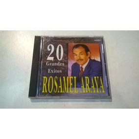 20 Grandes Éxitos, Rosamel Araya - Cd Industria Nacional Vg
