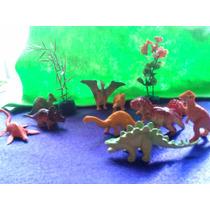 Dinosaurios Deco Torta Souvenir Coleccion Maqueta Zcentro