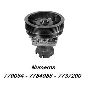 Bomba D´água Fiat Tipo 1.6 Ie Ano 1993 A 1995 7770034