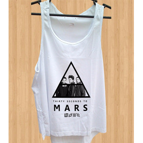 Blusa 30 Seconds To Mars Feminina 30stm Jared Leto Regata
