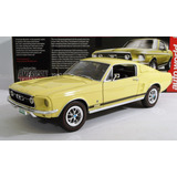 Ford Mustang Gt 1967 Escala 1:18 Autoworld