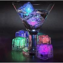 Hielo Luminoso Luz Led Fiestas Bodas Xv 15 Años Eventos 1pza