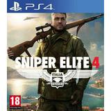 Ps4 Sniper Elite 4 Nuevo Sellado