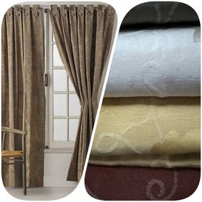 cortinas living comedor habitacion paos chardonnay oregon