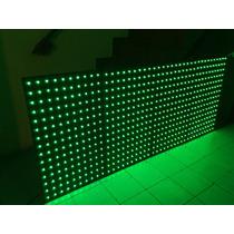 Panel Cabina Led Pixel Pix-150 Madera Combo Lumalightingmx